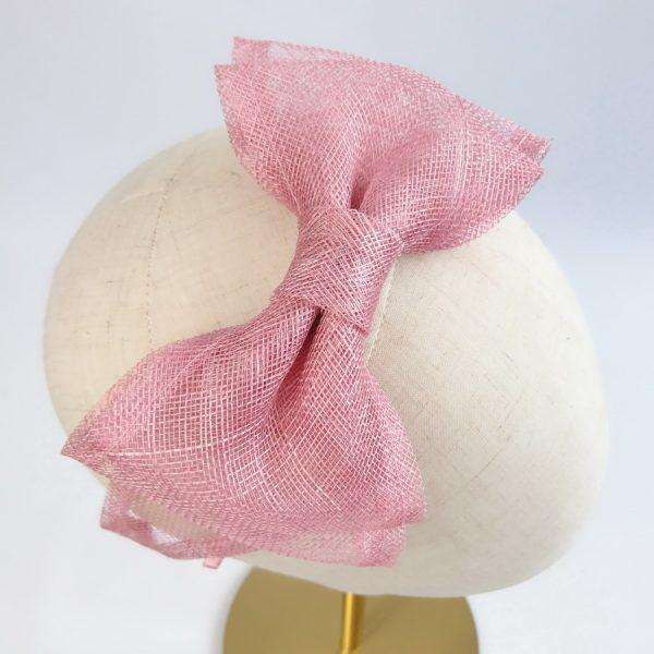 Dusky Pink Fascinator by Imogen's Imagination