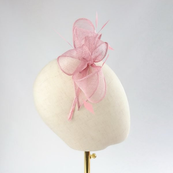 Dusky Pink Bridesmaid Hair Accessories