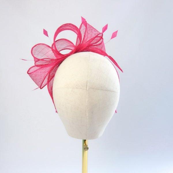Fuchsia Pink Summer Hair Accessories