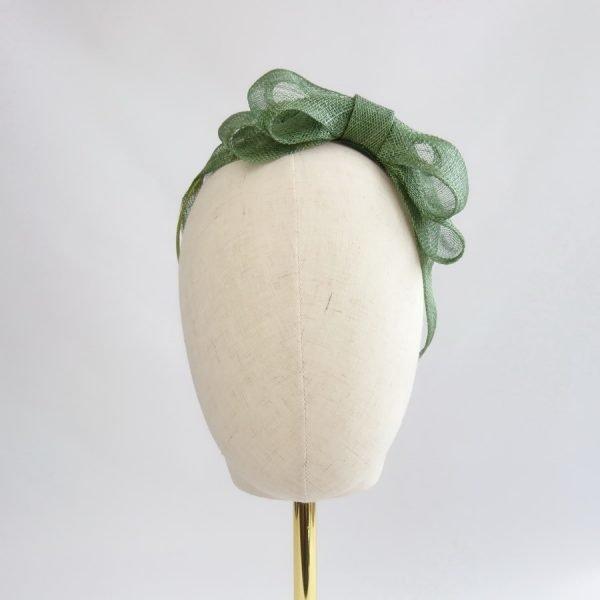 Green Bridesmaid Hair Accessories