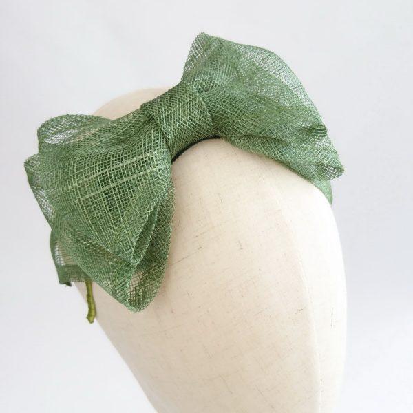 Green Women's Bow Headbands