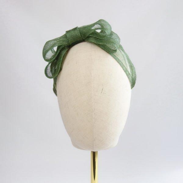 Green Wedding Fascinators