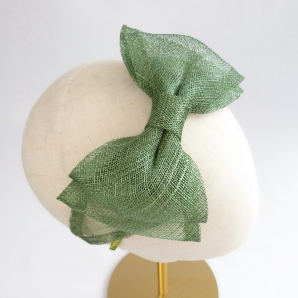 Green Fascinator by Imogen's Imagination