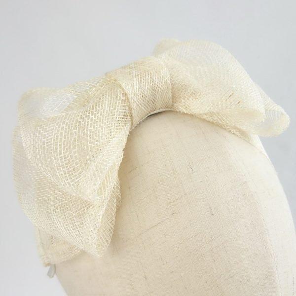 Ivory Women's Bow Headbands