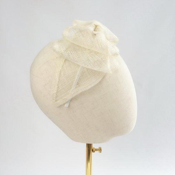 Ivory Feather Free Fascinators