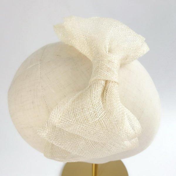 Ivory Fascinator by Imogen's Imagination