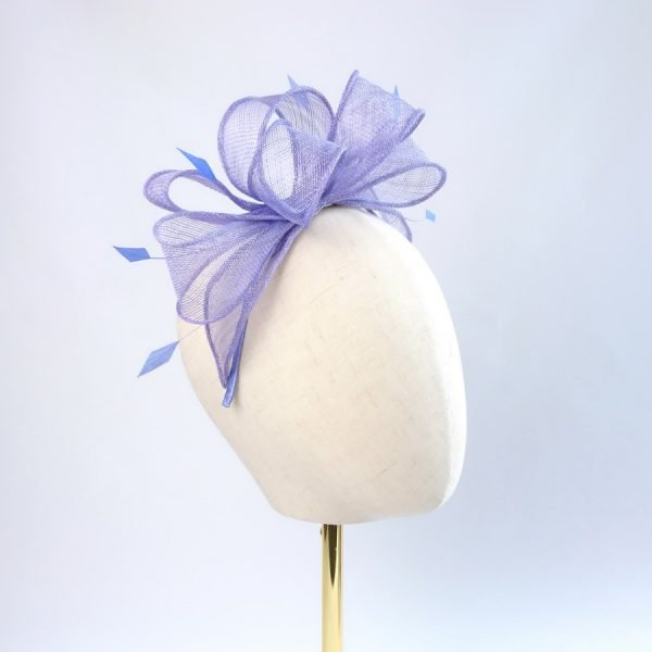 Lilac Wedding Fascinators