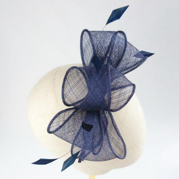 Navy Blue Spring Hair Accessories