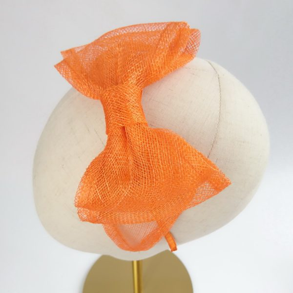 Orange Vegan Friendly Fascinators