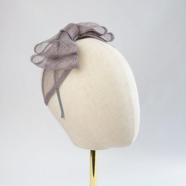 Pewter Grey Women's Bow Headbands