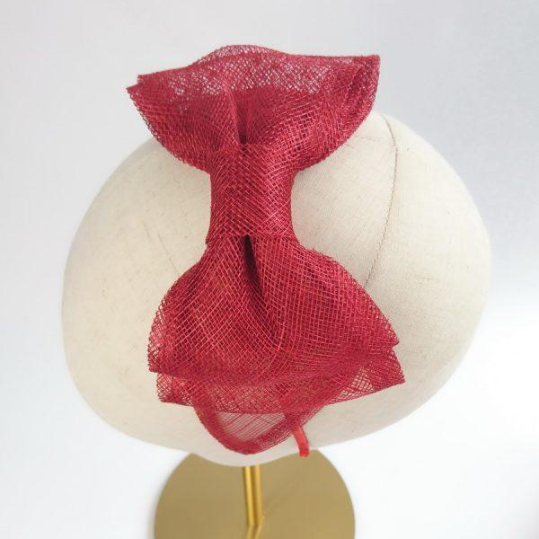 Red Women's Bow Headbands