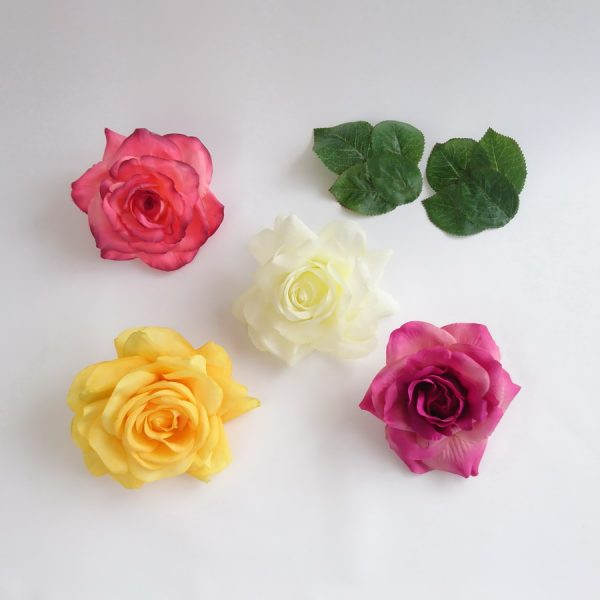 Detachable Roses for Straw Sun Hats