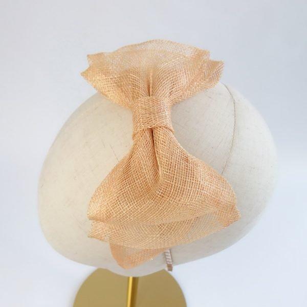 Apricot Women's Bow Headbands