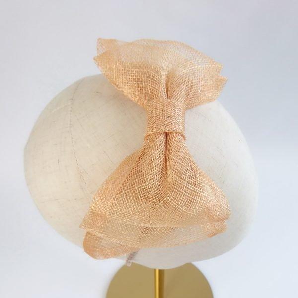 Apricot Bridesmaid Hair Accessories