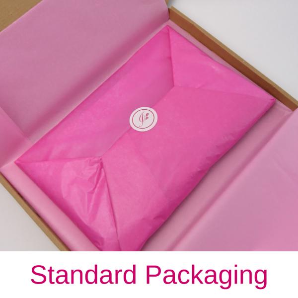 Imogen's Imagination beret in pretty packaging as standard