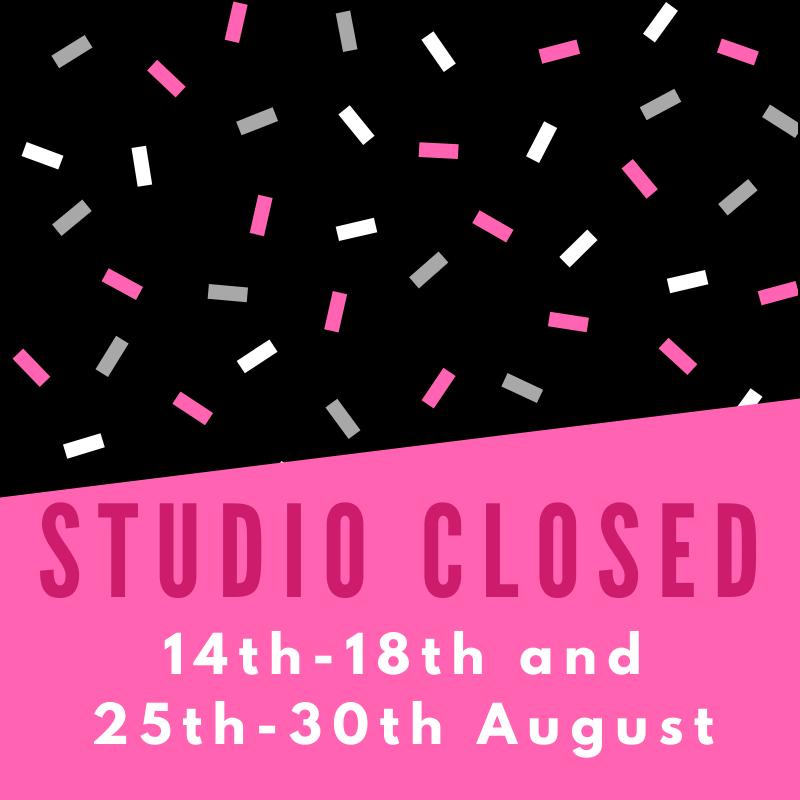 Studio Shutdown Dates in August 2021
